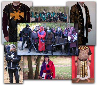 Velvet Glove costumes